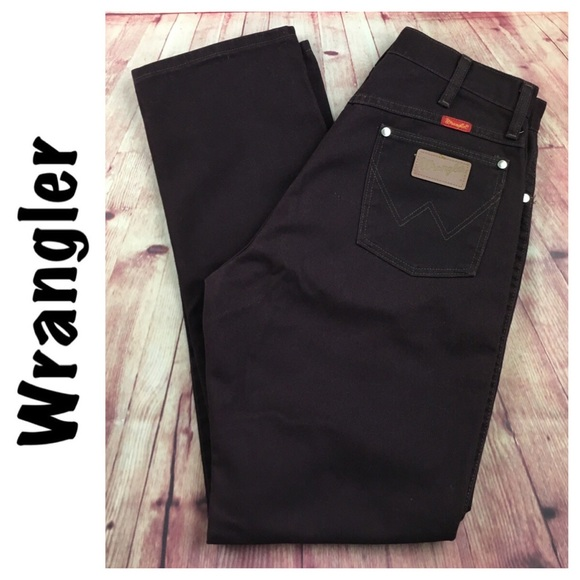 Wrangler Denim - 💸😻Wrangler Vintage burgundy jean size 13 junior